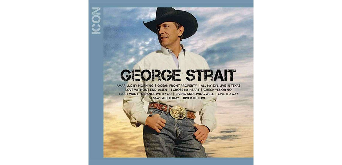 8722f00e7d5 Icon is a compilation album by George Strait and was released on September  13